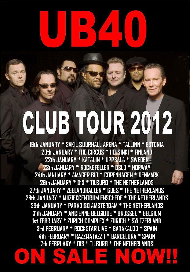 CLUB TOUR 2012
