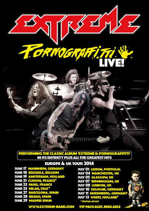 Pornograffitti live europe 2014