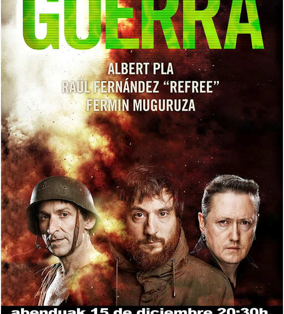 Fermin Muguruza, Albert Pla y Raúl Fernández (Refree)