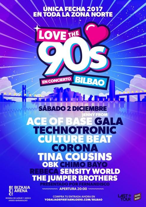 concierto de los 90 en bilbao